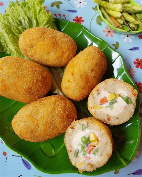 resep camilan kentang istimewa makanan ringan sehat