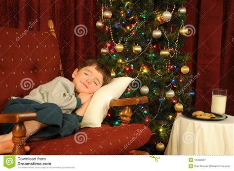 christmas slumber stock image image 13400581