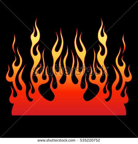 fire pattern font flames stock images royalty free images vectors
