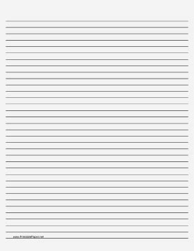 printable lined paper that you can type on medium ruled paper with black lines on a pale gray
