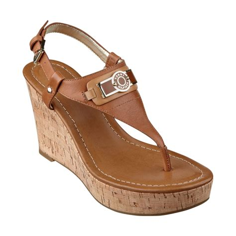 Sandal Platform 2 Hitam lyst hilfiger womens monor platform wedge sandals in brown