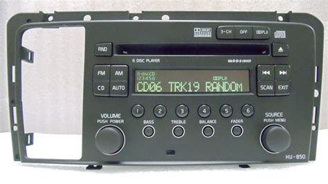repair service for volvo s60 v70 s80 xc70 radio hu 850 6