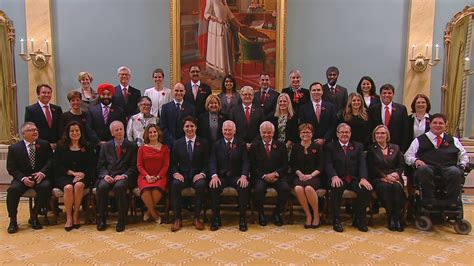 list of justin trudeau s cabinet politics cbc news