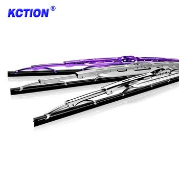colored windshield wipers car frame universal colored windshield chromed