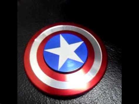 Fidget Spinner Capten America Spinner captain america fidget spinner demo