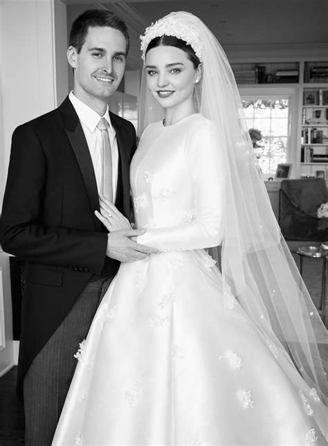 Wedding Dress Vogue by Miranda Kerr Wedding Dress For Vogue 2017