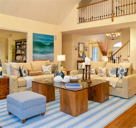 beach themed living room haus design colorways beautiful in blue