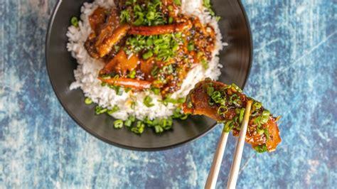 seitan orange chikn   seitan meatless main dishes