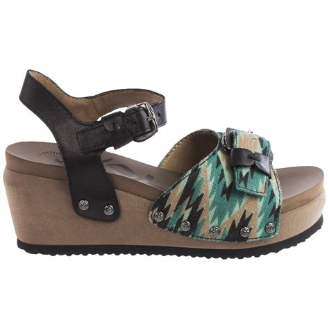 otbt wedge sandals otbt danbury platform wedge sandals for save 76