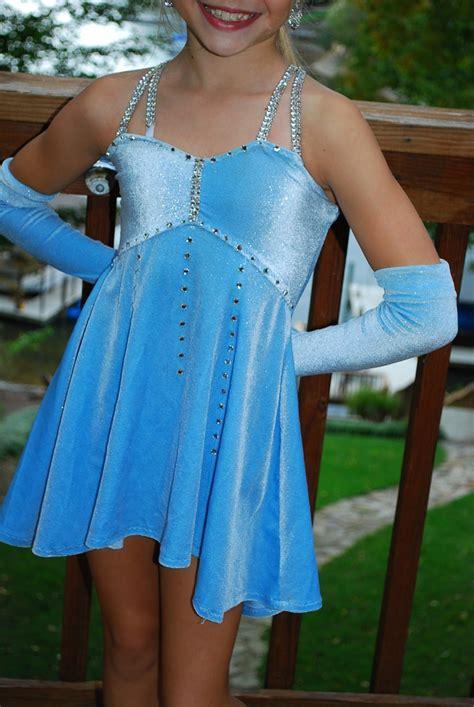 light blue lyrical costume competition dance costume light blue lyrical will fit cm