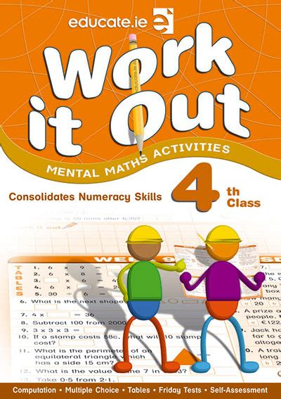 Revision Essentials P34 Primary Science Book A work it out 4th class maths fourth class primary books