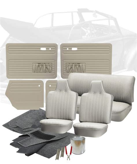 vw upholstery kits 1969 vw bug convertible interior kits jbugs