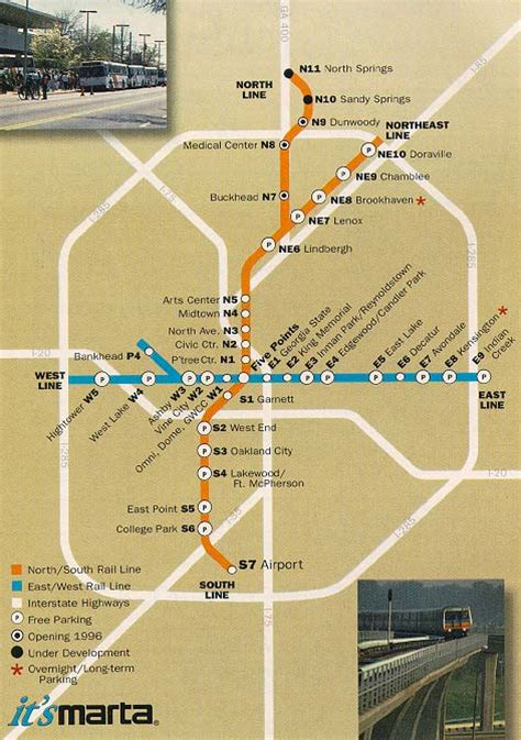marta station map buckhead atlanta transportation marta
