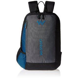 buy wildcraft streak nylon  ltrs blue laptop bag