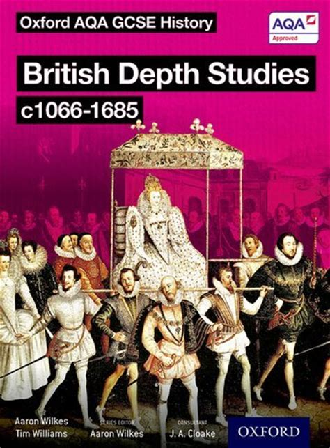 libro aqa gcse history elizabethan british depth studies c1066 1685 norman medieval elizabethan and restoration england by