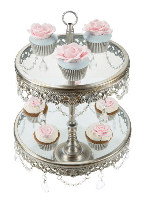 Cupcake Stand 2 2 tier 10 12 inch silver cupcake stand amalfi