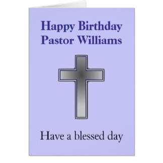 printable birthday cards for pastors pastors birthday cards zazzle