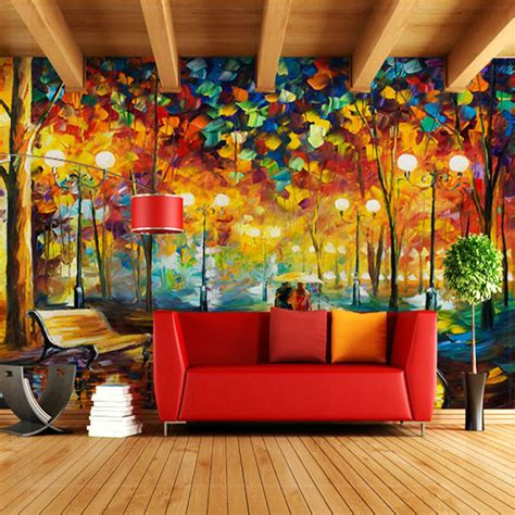 abstract tree large photo wallpaper mural wall paper 3d