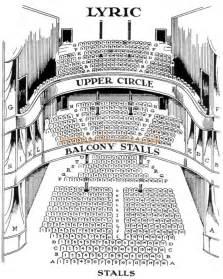lyric theatre floor plan the lyric theatre shaftesbury avenue london w 1