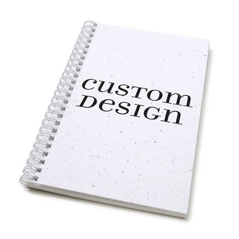 design custom journal custom design personalized plantable journal standard