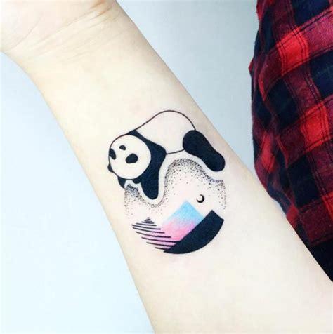 panda tattoo wrist 25 perfectly cute panda tattoos tattooblend