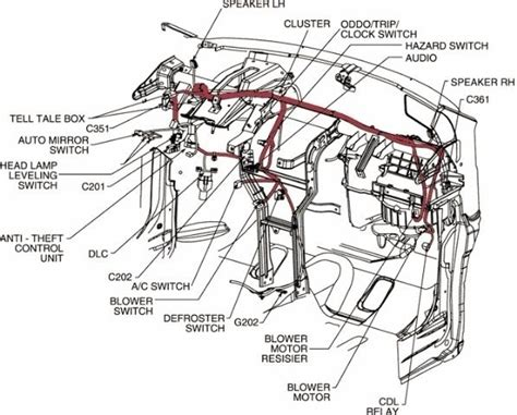 2004 chevrolet tahoe wiring diagram wiring diagram and