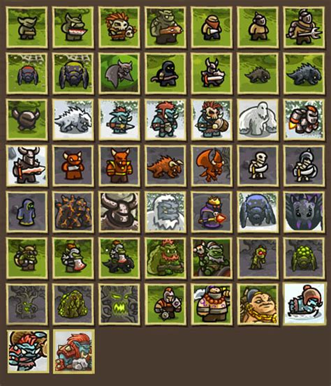 kingdom rush frontiers full version hacked image all enemies jpg kingdom rush wiki wikia