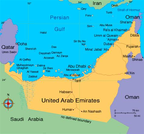 uae map maps of uae emirates travel guide