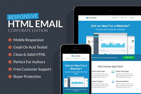 Appturbo Html Email Template By Xstortionist On Deviantart Free Html Email Templates
