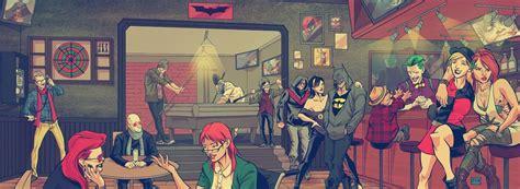 imagenes de batman hipster la gran familia hipster de batman y el profesor x los