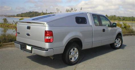 commercially produced aerodynamic pickup bed cap fuel