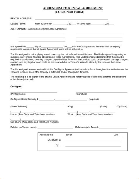 basic agreement template doc 585600 doc12751650 basic rental agreements free