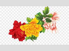 Floral design Flower Clip art - Autumn flowers in bloom ... Free Clip Art Of Fall Flowers