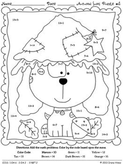 autumn math coloring pages fall math coloring worksheets multiplication search