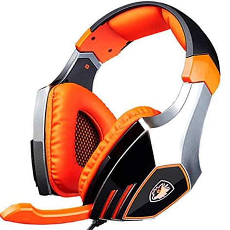 Headset Gaming Sades A9 Orange 1 sades a60 ele gaming headsets with microphone orange