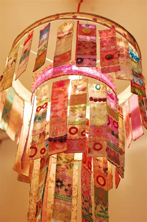 Handmade Paper Chandelier - three tier paper chandelier from radiance uk made from