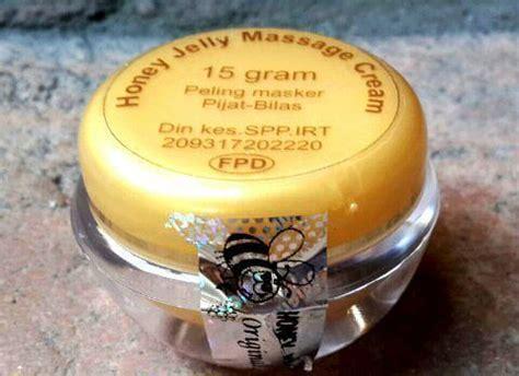 Honey Jelly Wajah honey jelly mencerah kulit wajah secara maksimal