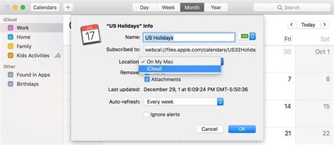 how to make a calendar subscription use icloud calendar subscriptions apple support