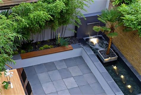 modern small backyard rooftop garden design ideas modern design with grey stone