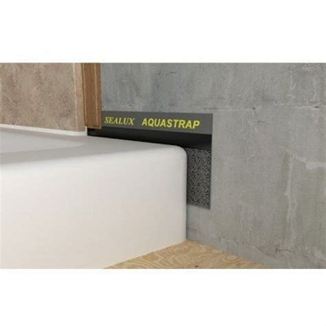 Aquastrap Shower Seal by Shower Sealer Self Adhesive Seal Waterproof Uk Delivery