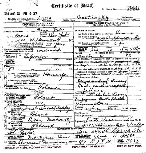 Ny Birth Records Birth Marriage And Records New York State Archives