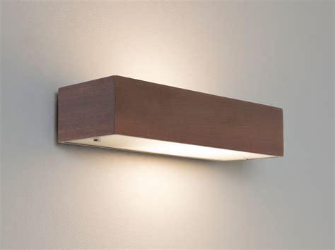 applique legno lada parete rettangolare astro manerbio 0400 60w ip20