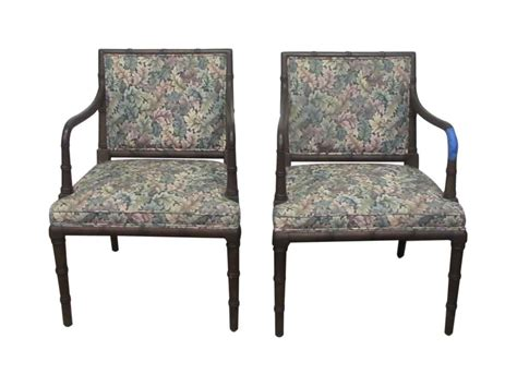 Pair Of Chairs For Living Room Pair Of Hickory Antique Chairs Olde Things