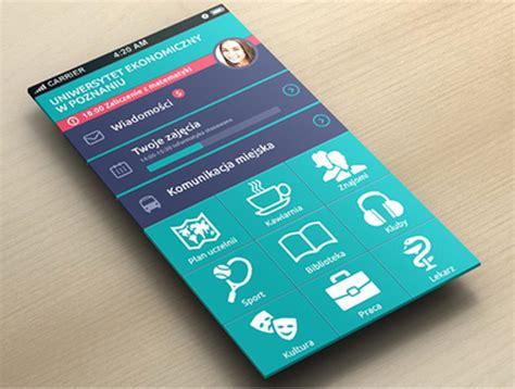 app design university modern mobile app ui designs with uux inspiration