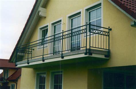 balkongeländer verzinkt balkone