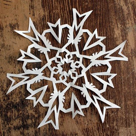 Best Way To Make Paper Snowflakes - 66 best snowflakes images on