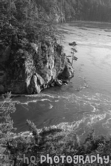 rugged cliffs crossword rugged cliffs of deception pass black and white photo