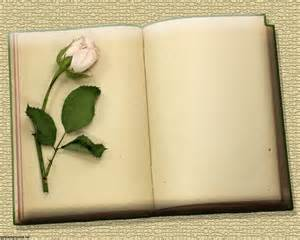This is the flowers and vintage blank books background image you can