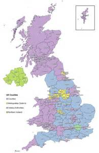 map of counties of united kingdom counties waze