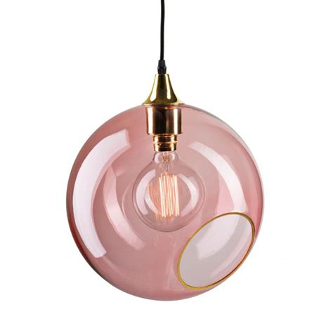 Pink Glass Pendant Light Large Colorful And Design Pendant Light In Glass Ballroom Xl